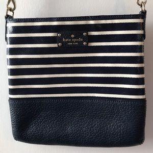 Kate Spade Cora Stripe Crossbody Bag